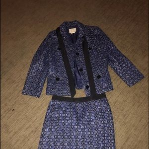Kate spare wool suit